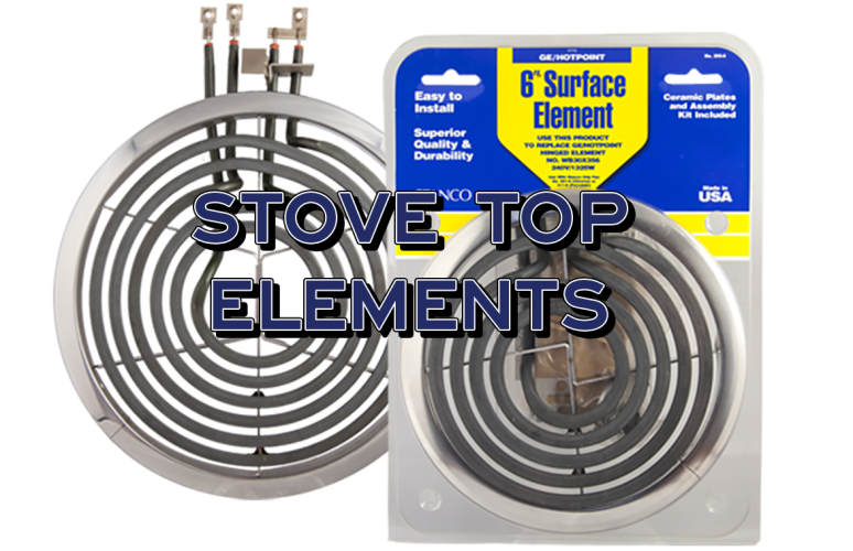 replacement stove top elements